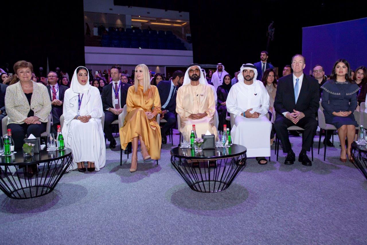 Mohammed bin Rashid attends opening session of Global Women's Forum Dubai (GWFD) 2020