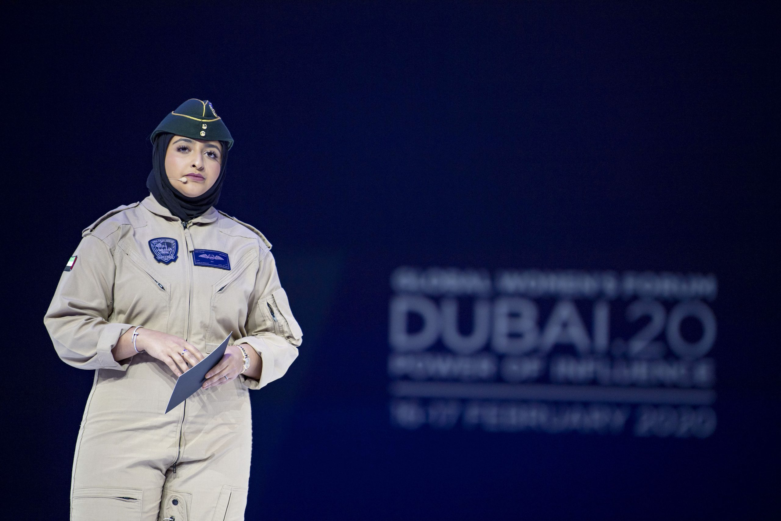 """There is still space for women to serve our country,"" says Capt. Sheikha Mozah bint Marwan Al Maktoum in GWFD 2020 keynote speech"