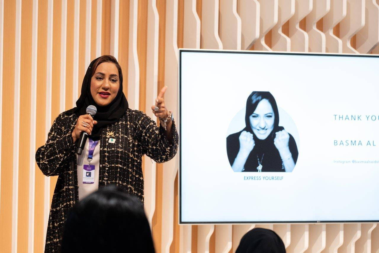 HH Sayyida Basma Al Said explores the value of storytelling for mental health at GWFD 2020