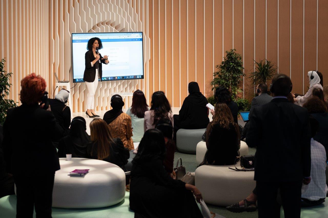 Global Women's Forum Dubai (GWFD) hosts Google Trends News Initiative session with Samya Ayish
