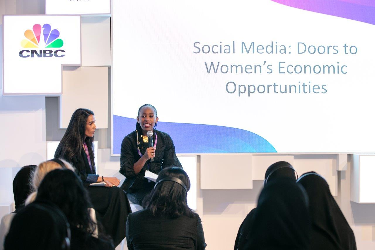 Social media amplifies women's voices and creates more economic opportunities