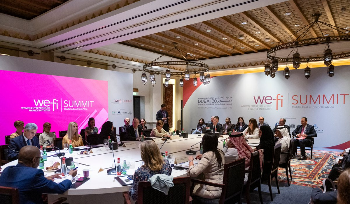 Women Entrepreneur Finance Initiative (We-Fi) hosts ministerial roundtable to spark discussions on women's advancement