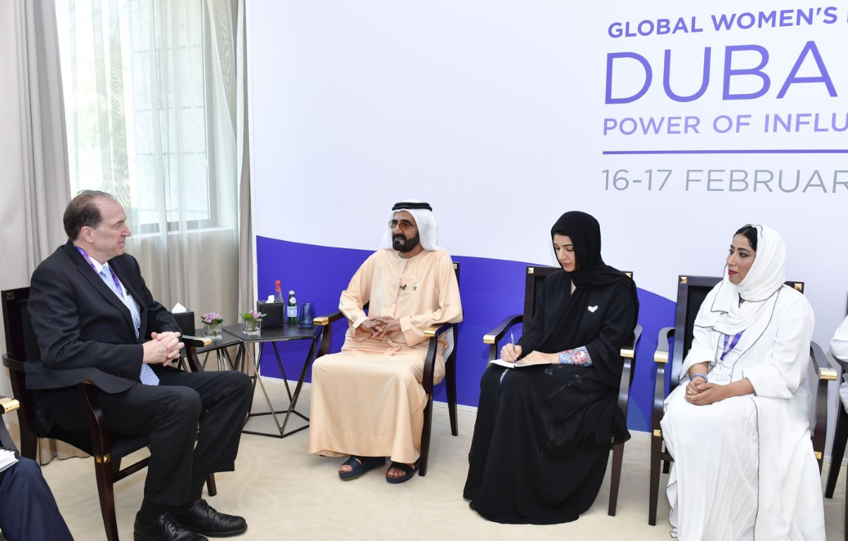 Mohammed bin Rashid receives President of World Bank Group